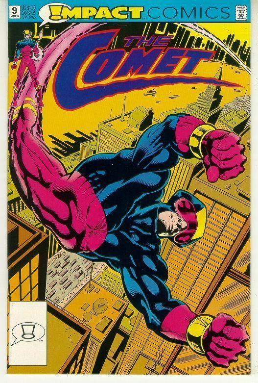 COMET #9 (Impact Comics, 1991 Series) NM!