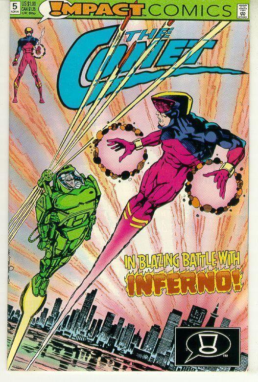 COMET #5 (Impact Comics, 1991 Series) NM!
