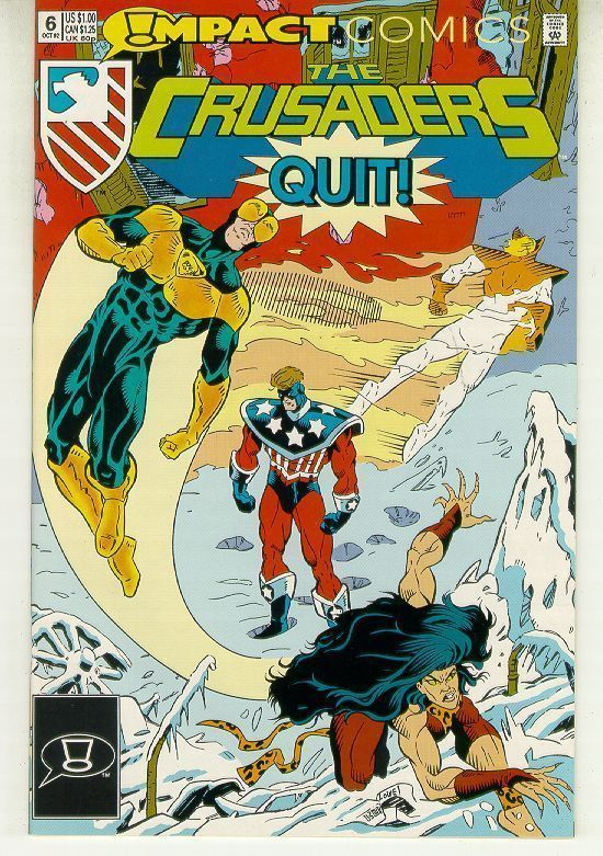 CRUSADERS #6 (Impact Comics, 1992) NM!