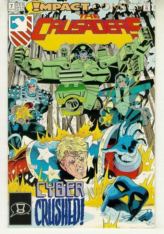 CRUSADERS #7 (Impact Comics, 1992) NM!