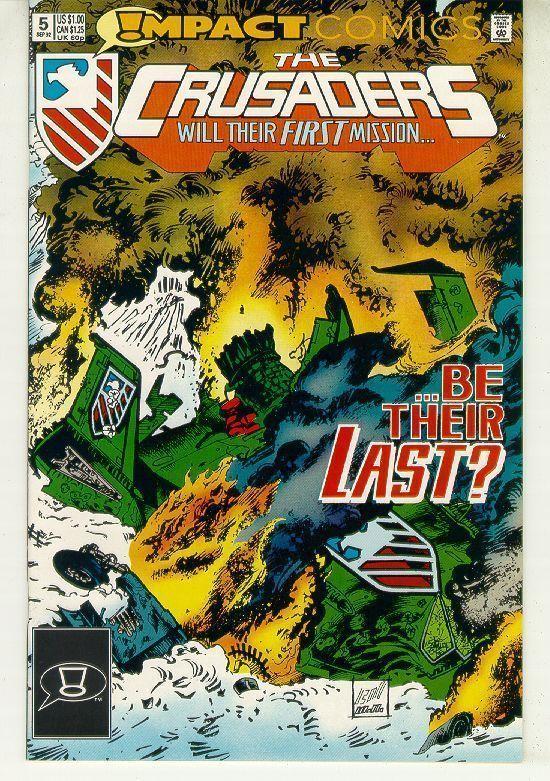 CRUSADERS #5 (Impact Comics, 1992) NM!
