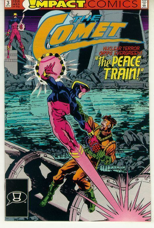 COMET #3 (Impact Comics, 1991 Series) NM!