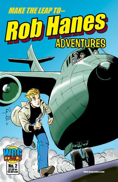 ROB HANES ADVENTURES #2 (WCG Comics) NM!