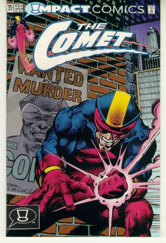 COMET #15 (Impact Comics, 1991 Series) NM!