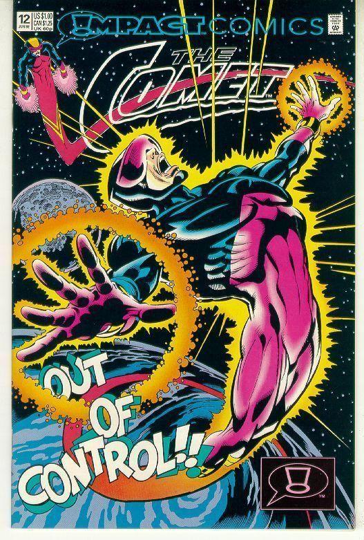 COMET #12 (Impact Comics, 1991 Series) NM!
