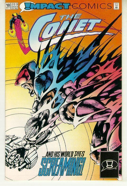 COMET #18 (Impact Comics, 1991 Series) NM!