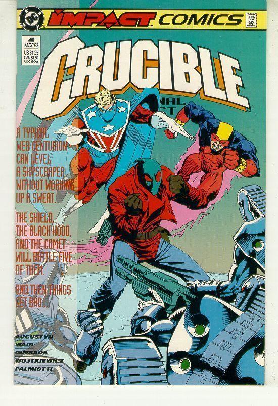 CRUCIBLE #4 (Impact Comics, 1993) NM!