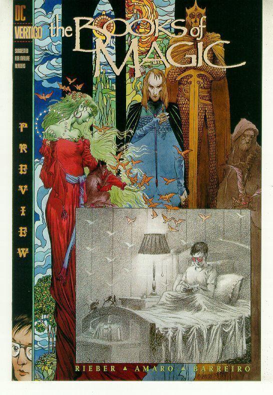 BOOKS of MAGIC PREVIEW (Vertigo) NM!