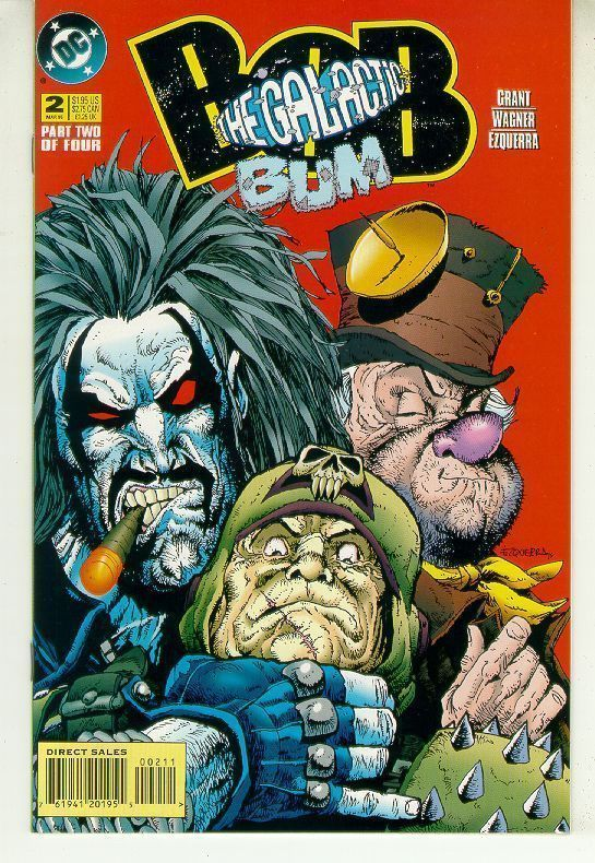 BOB the GALACTIC BUM #2 (DC Comics, 1995) NM!