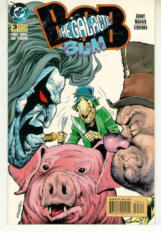 BOB the GALACTIC BUM #3 (DC Comics, 1995) NM!