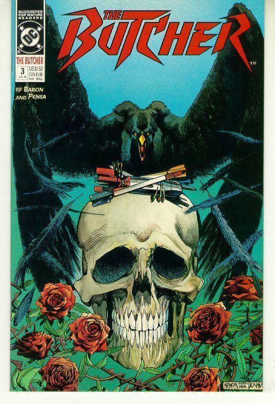 BUTCHER #3 (DC Comics, 1990) NM!