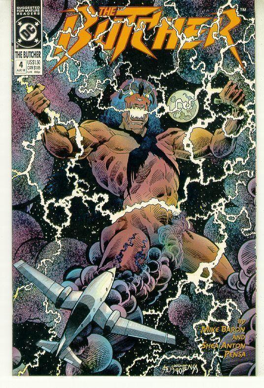 BUTCHER #4 (DC Comics, 1990) NM!