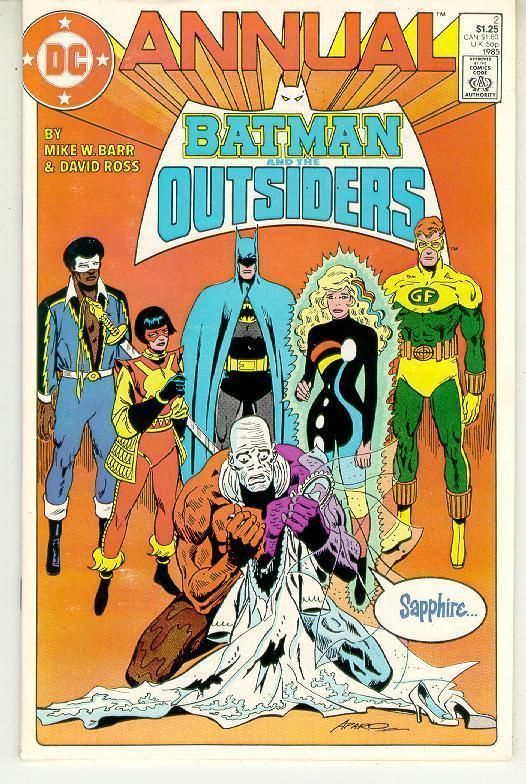 BATMAN and the OUTSIDERS ANNUAL #2 (DC Comics, 1985)