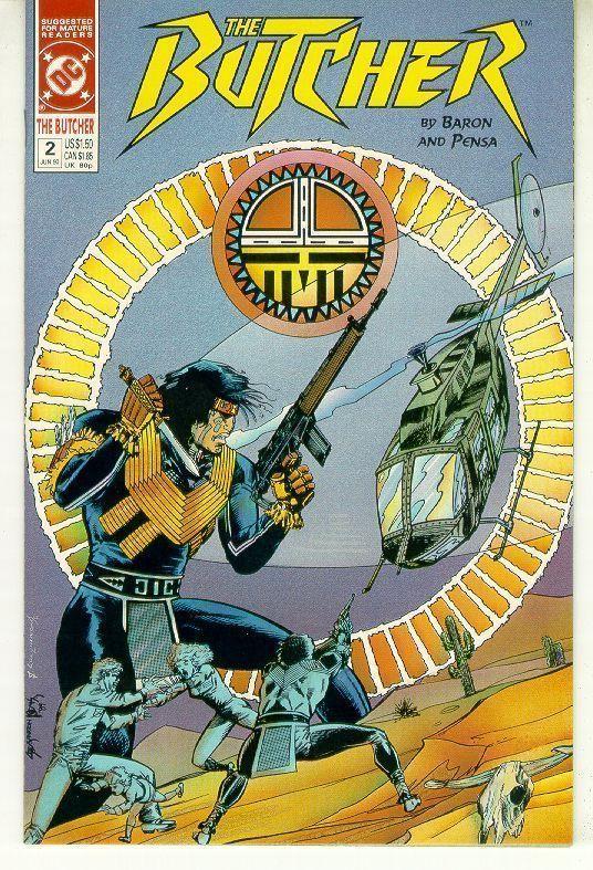 BUTCHER #2 (DC Comics, 1990) NM!