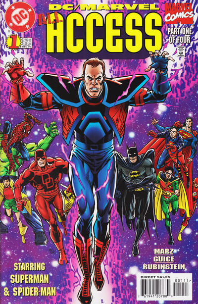 DC / MARVEL: ALL ACCESS #1 NM!