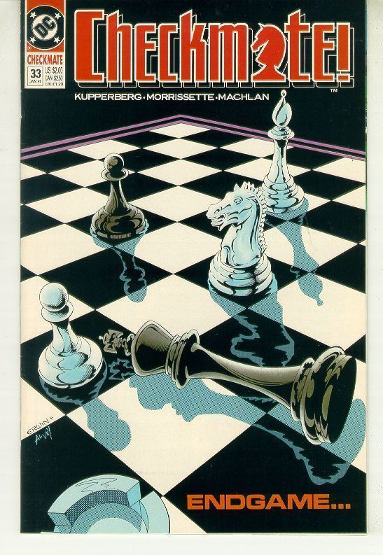 CHECKMATE! #33 (1988 Series) NM!