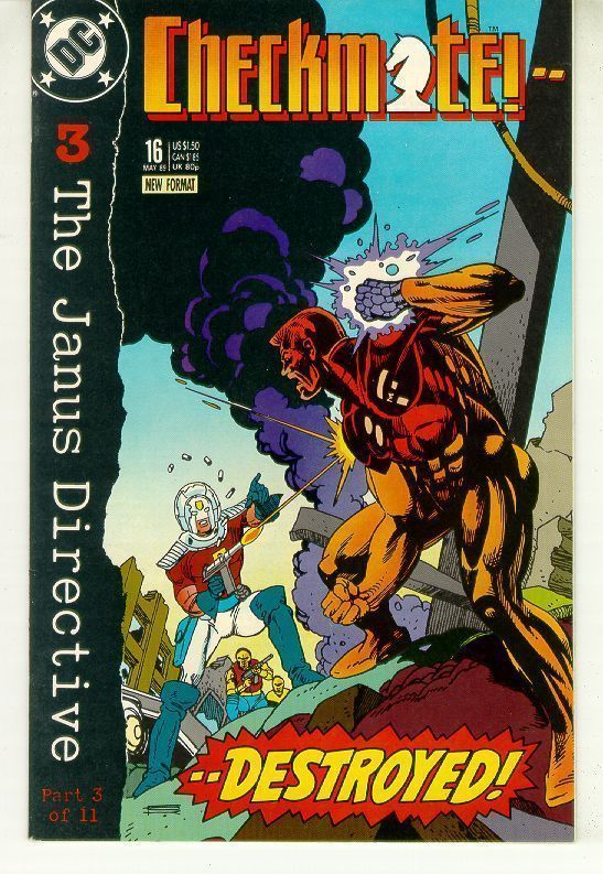 CHECKMATE! #16 (1988 Series) NM!