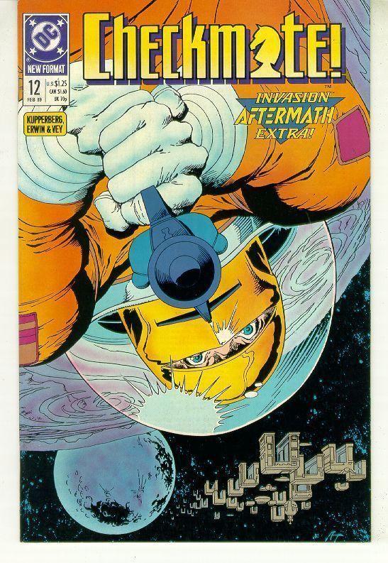 CHECKMATE! #12 (1988 Series) NM!