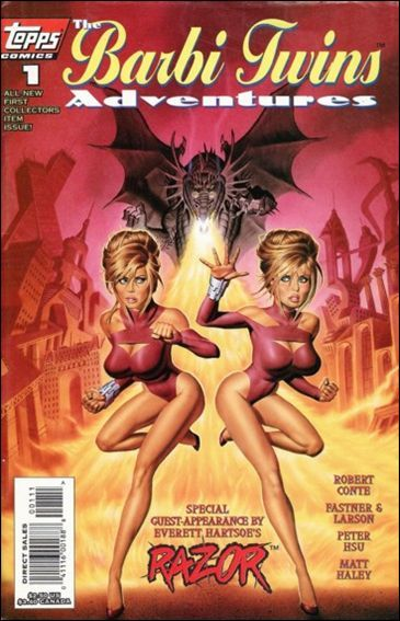 Topps THE BARBI TWINS ADVENTURES #1 NM