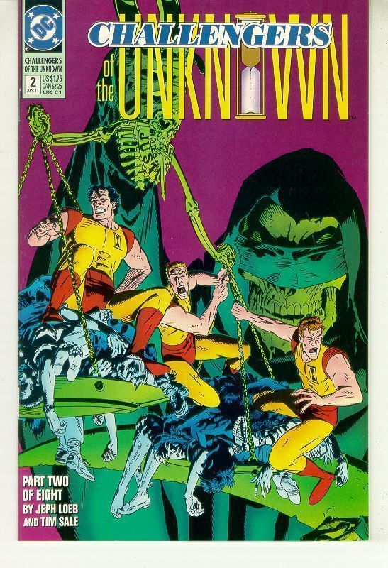 CHALLENGERS of THE UNKNOWN #2 (1991 Series) NM!