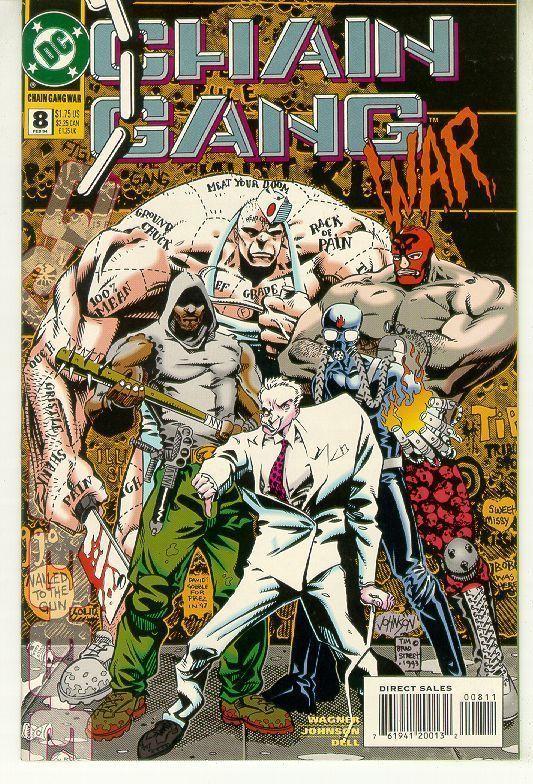 CHAIN GANG WAR #8 (DC Comics) NM!