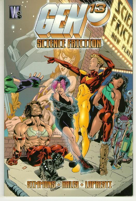 GEN 13: SCIENCE FRICTION NM!