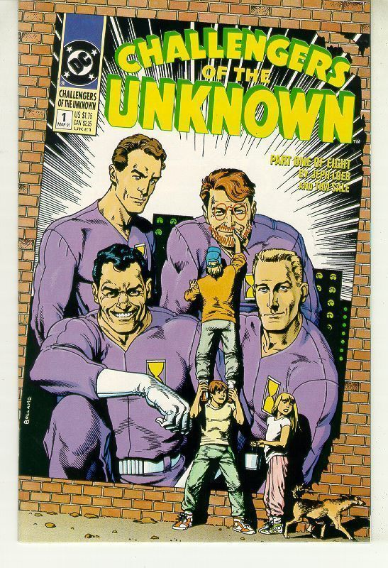 CHALLENGERS of THE UNKNOWN #1 (1991 Series) NM!