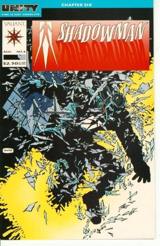 Shadowman #4 (Valiant) ~ NM! ~ UNITY