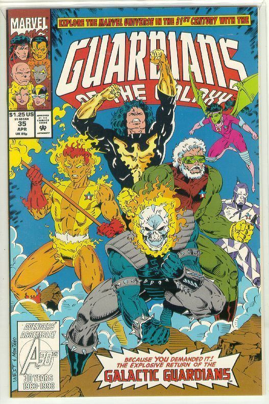GUARDIANS of the GALAXY #35 (1990 Series) NM!