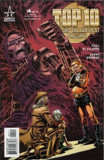TOP 10: BEYOND the FARTHEST PRECINCT #4 (America's Best Comics) NM! ~ Alan Moore