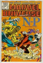 OFFICIAL HANDBOOK OF THE MARVEL UNIVERSE #8 NM! - $2.50