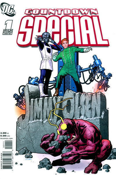 COUNTDOWN SPECIAL: JIMMY OLSEN #1 (2008) NM!