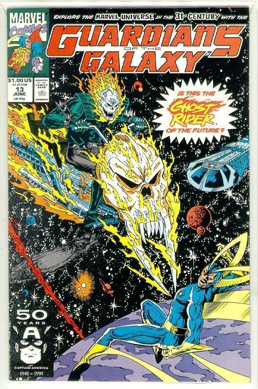 GUARDIANS of the GALAXY #13 (1990 Series) NM!