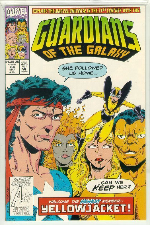 GUARDIANS of the GALAXY #34 (1990 Series) NM!