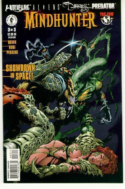 MINDHUNTER #3 NM! ~ WITCHBLADE - ALIENS - DARKNESS - PREDATOR