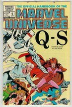OFFICIAL HANDBOOK OF THE MARVEL UNIVERSE #9 NM! - $2.50