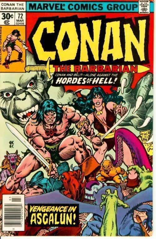 CONAN the BARBARIAN #72