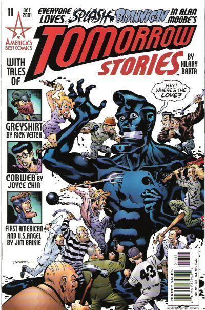 TOMORROW STORIES #11 (America's Best Comics) NM! ~ Alan Moore