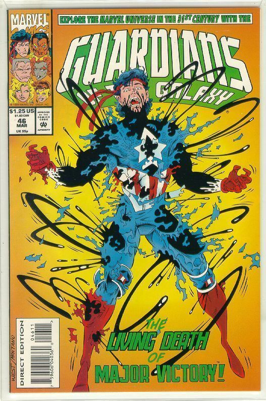 GUARDIANS of the GALAXY #46 (1990 Series) NM!