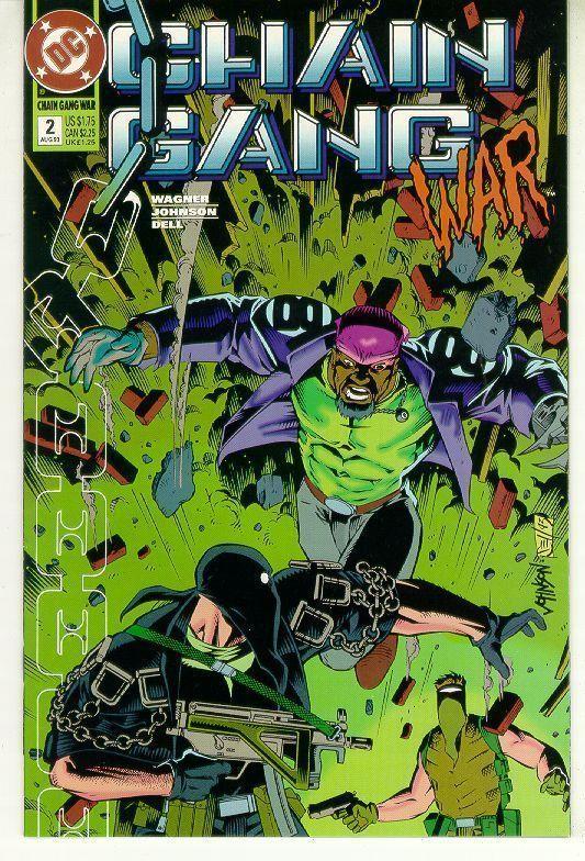 CHAIN GANG WAR #2 (DC Comics) NM!