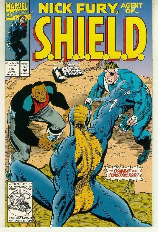 NICK FURY, AGENT of SHIELD #36 (1989 Series) NM!