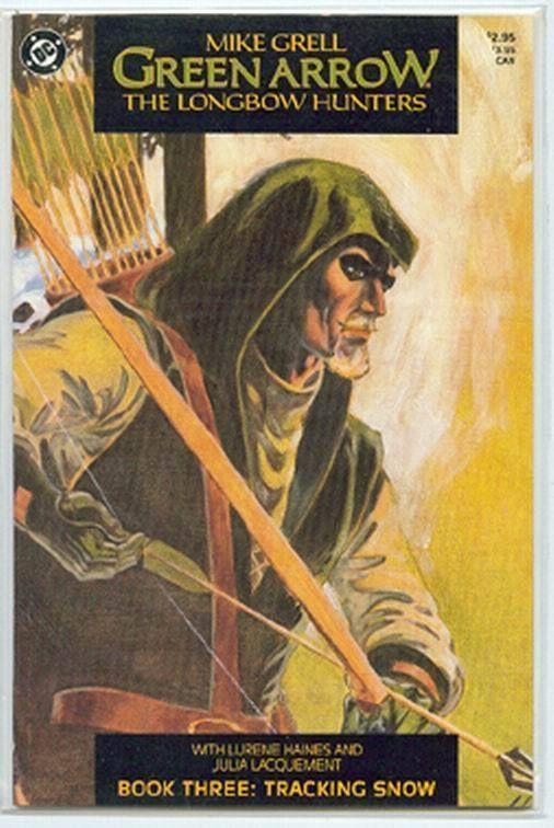 GREEN ARROW: The LONGBOW HUNTERS #3 (1987)
