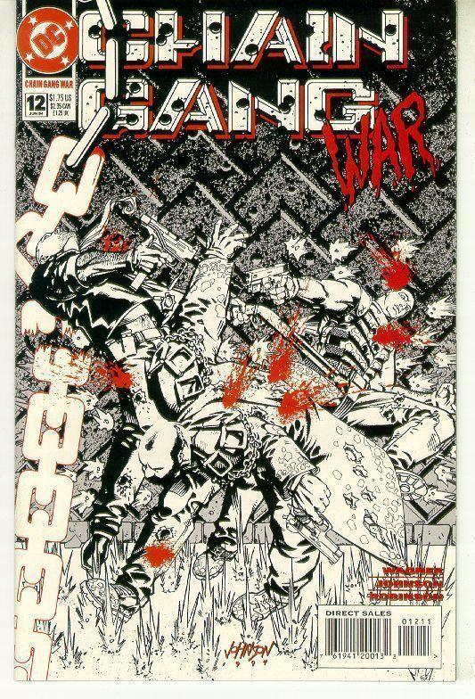 CHAIN GANG WAR #12 (DC Comics) NM!