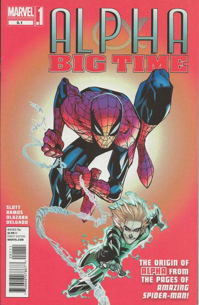 ALPHA: BIG TIME #0.1 (Marvel Comics, 2013) NM!