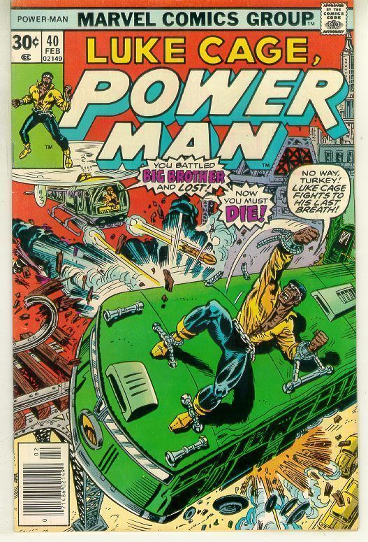 POWER MAN #40