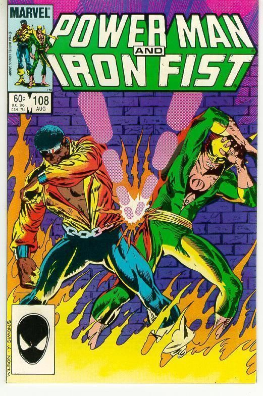 POWER MAN and IRON FIST #108
