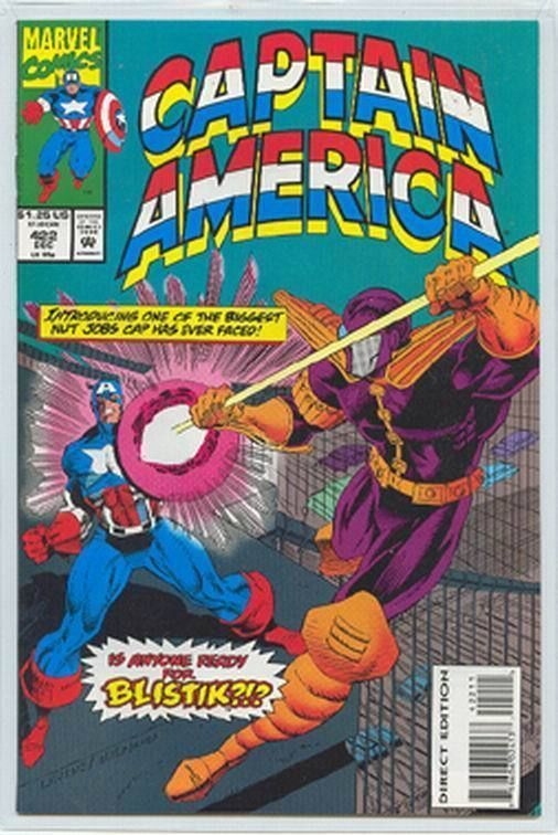 CAPTAIN AMERICA #422 NM!