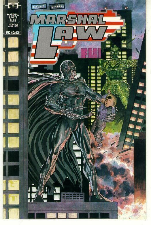 MARSHAL LAW #3 (Epic Comics) NM!