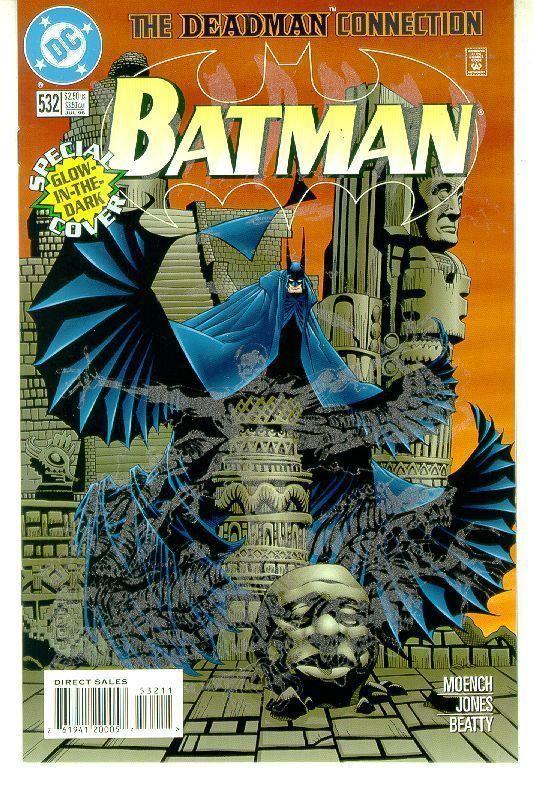 BATMAN #532 (1996) NM! ~ Glow-in-the-dark cover