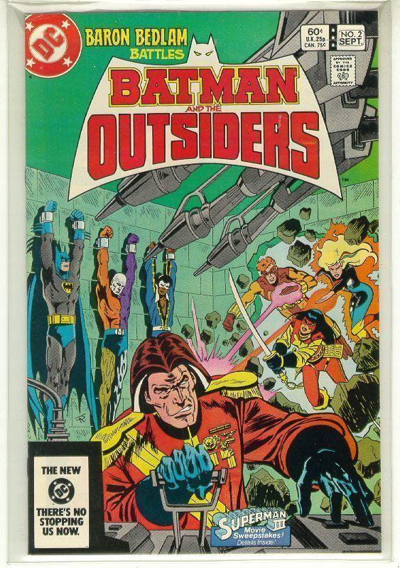 BATMAN and the OUTSIDERS #2 (DC Comics, 1983 Series) NM!